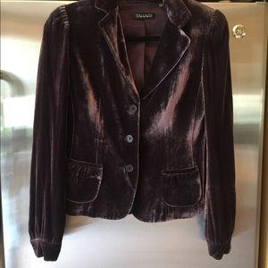 TAHARI Velvet Jacket